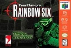 Tom Clancy's Rainbow Six (USA) Box Scan